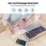 Reloj Inteligente, Smartwatch con Pulsómetro Pulsera Actividad Multifuncion Color Monitor Reloj Deportivo Monitor de Sueño Hombre Mujer niños para Android y iOS