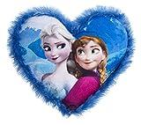 Disney 115619 - Frozen Cuscino a Cuore, 33 x 33 cm