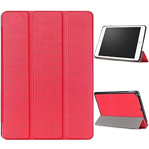 WindTeco Hülle für Neu iPad 9.7 Zoll 2017 - Ultra Dünn Slim-Fit Smart Hülle Schutzhülle Tasche mit Einschlaf / Aufwach Funktion für New Apple iPad 9.7