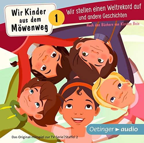 Wir Kinder aus dem Möwenweg - Wir stellen einen Weltrekord auf und andere Geschichten (CD): Das Original-Hörspiel zur TV-Serie, ca. 70 min. - Cd Für Kinder Bücher Auf