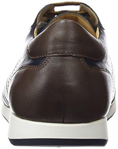 Mephisto - Pavel Boston 5051/5045 Dark Brown, Scarpe da ginnastica Uomo Marrone (Marrone scuro (Dark Marrone))