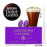 NESCAFÉ Dolce Gusto Café Chococino Caramel, Pack de 3 x 16 Cápsulas - Total: 48 Cápsulas de Café