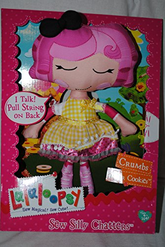 Lalaloopsy Talking Pull String Soft Doll - Crumbs Sugar Cookie (Crumbs Cookie Sugar)