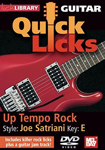 Lick Library: Quick Licks - Joe Satriani Up-Tempo Rock [DVD] [2008] [NTSC]