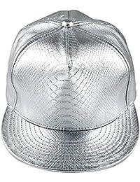 af81fda5827a5 Amazon.es  gorras planas - Plateado   Gorras de béisbol   Sombreros y gorras   Ropa