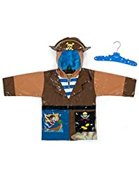 Kidorable Kids Pirate Raincoat Small 80-86cm 2-3 years