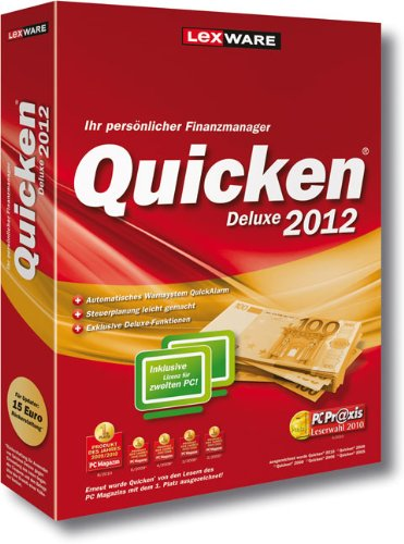 Quicken Deluxe 2012 (Version 19.00)