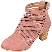 Coloré Femme Boots Chaussures Classiques Chaudes Botte (TM) Rome zipper  avec des bottes à 761eb7c39cd8