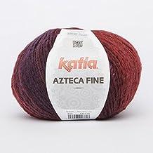Katia Azteca Fine–Color: rojos (212)–100g/aprox. 270m lana