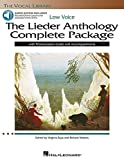 The Lieder Anthology Complete Package - Low Voice: Book/Pronunciation Guide/Accompaniment Audio Online the Vocal Library