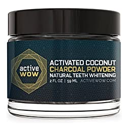 Active Wow Active Wow Teeth Whitening Charcoal Powder Natural