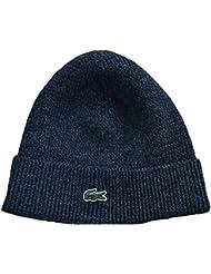 Lacoste Men's Dark Grey Wool Hat