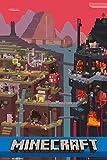 GB eye Minecraft World Poster Plakat Bild