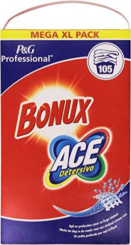 bonux Ace–Waschmittel, in Pulver Waschmittel in Waschmaschine und Handwäsche–6825g (Ace Waschmaschine)