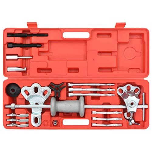Tidyard 10-Wege Innenlager-Abzieher-Set mit Gleithammer 10 Way Bottom Bearing Puller Set with Slide Hammer Vehicles & Parts Workshop Equipment & Tools Hand Tools -