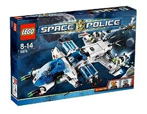 LEGO - 5974 - Jeu de construction - Space Police - Le vaisseau galactique