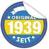 Original seit 1939 | Individualisieren Sie das Geschenk | Aufkleber | GRATIS