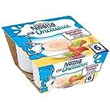 Nestlé p'tit onctueux dessert lacté saveur banane fraise 4x100g dès 6 mois - ( Prix Unitaire ) - Envoi Rapide...