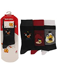 Chaussettes Homme Lot de 3 ANGRY BIRDS