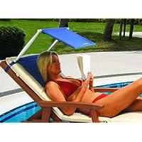 Cush n Shade - Parasol portátil y cojín (modelo nuevo), color azul