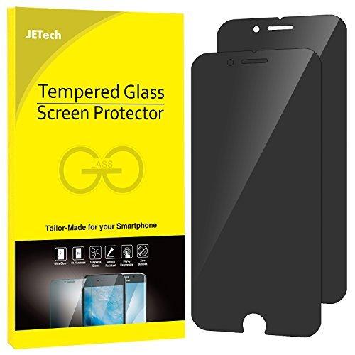 JETech Privacy Pellicole Protettive per iPhone 6s e iPhone 6s, Vetro Temperato, Pacco da 2, Nero