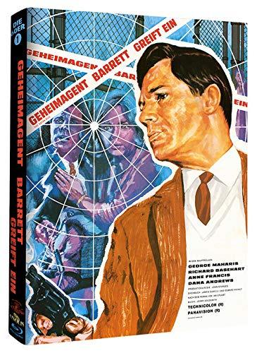 Geheimagent Barrett greift ein - Mediabook - Cover A - Phantastische Filmklassiker Ausgabe 4 [Blu-ray]