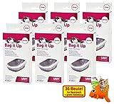 XXL Sparpack Bag IT up Beutel für große Katzentoiletten 36 Beutel mit gratis Spielzeug