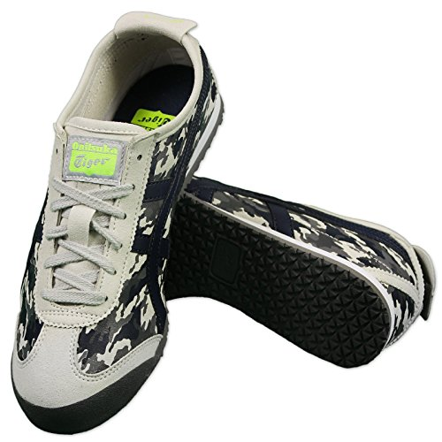 ASICS ONITSUKA TIGER MEXICO 66 CAMOUFLAGE NEIGE CAMOUFLAGE CHAUSSURES BASKETS GRIS Gris