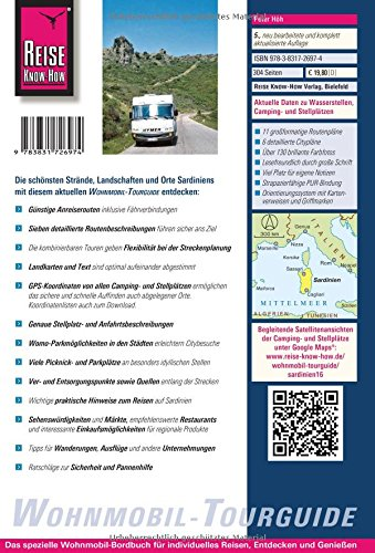 Reise Know-How Wohnmobil-Tourguide Sardinien: Die schönsten Routen: Alle Infos bei Amazon