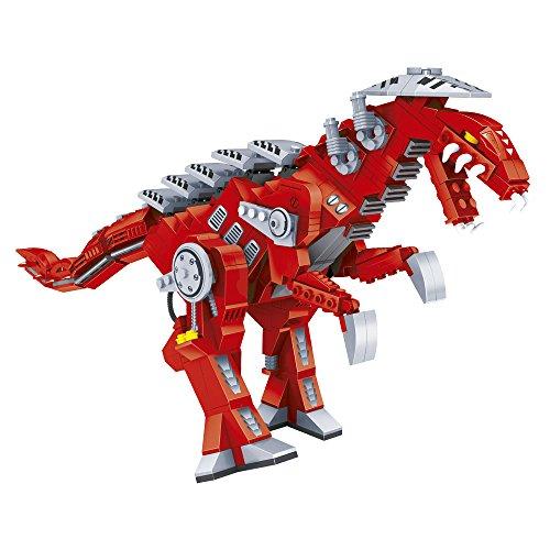 ausini - Juego de bloques, construcción robot dinosaurio, 492 piezas (Colorbaby 42851)