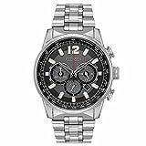Citizen Herren-Armbanduhr 43mm Armband Edelstahl + Gehäuse Quarz CA4370-52E