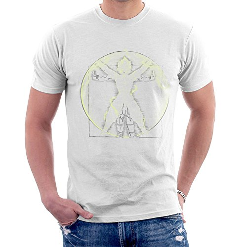 Vitruvian Saiyan Goku Dragon Ball Z Men's T-Shirt