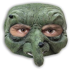 Générique-mahal611-Máscara Bruja con Tirador Verrues látex Adulto-Talla única
