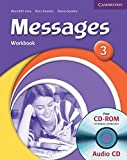 Messages 3 Workbook with Audio CD/CD-ROM: Level 3 by Meredith Levy (2006-08-28)