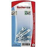 Fischer Hohlraum-Metalldübel HM 5 x 37 SK SB-Karte, 4 x Schraube M 5 x 43, 050905