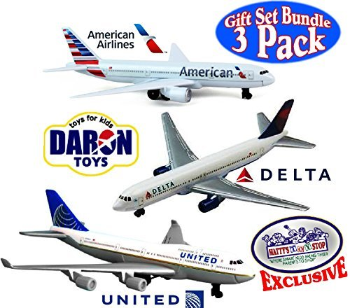 daron-american-airlines-delta-united-airlines-b747-die-cast-planes-mattys-toy-stop-exclusive-gift-se