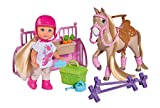 Simba 105733274 Evi Love Holiday Horse Spielpuppe, bunt