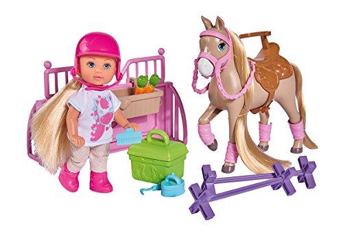 Simba 105733274EVI Love Holiday Horse Parte muñeca