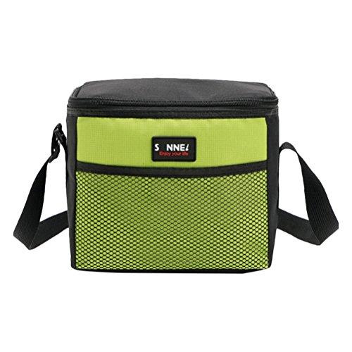Zhhlaixing 5l isolata borsa di scatola sacchetto di pranzo portatile borsa da tote picnic adatto per la vacanza al mare all'aperto picnic barbecue e pranzo di lavoro