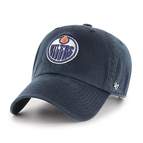 '47 Brand NHL Edmonton Oilers Baseballcap Cap Kappe Basecap Clean Up