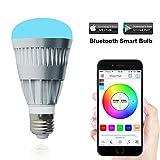 MagicHue Neu Smart LED Bluetooth Gegenwert 80W RGBW Lampe, 16 Mio Farben Leuchtmittel Sunrise...