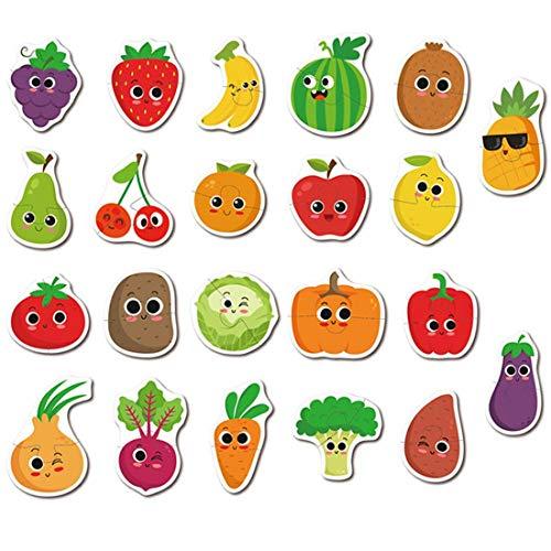 Puzzle Spiele Spielzeug Früherziehung Karte Tier Obst Erkenntnis Puzzle Lernspielzeug (Obst) ()