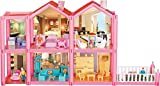 #9: Toyshine DIY 136 Pcs Doll House Creative Edition, Accessories Included