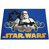 Star Wars mit Stormtrooper blau Kinder Teppich ca. 95 cm x 133 cm Designer Teppich Kinderteppich Teppich moderner Kinderzimmer Teppich Kinderzimmerteppich Kinderteppich Jugendteppich Läufer mit außergewöhnlichem Design macht das Betreten zum reinen Vergnügen ein echter Blickfang
