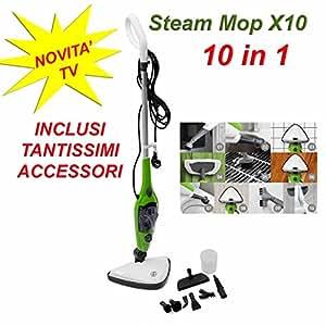 Scopa a vapore lavapavimenti steam mop x10 vaporetto - Lavapavimenti casa opinioni ...