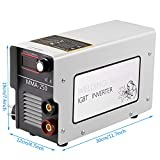 Coorun Schweißgerät 250A Elektrodenschweißgerät bis 4,5mm Elektroden, MMA, IGBT 220V, Inverter Schweißgerät Lichtbogenschweißgerät