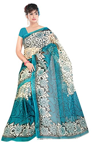 Ambe sarees women\'s jaipuri kota super net without blouse piece