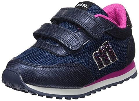 MTNG Jogger, Sneakers Basses Mixte Enfant, Bleu (Santo Marino /