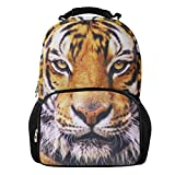 Animal-Zaino con speciale Diverse-Zaino per la scuola e da sport, da interni ed esterni tiger1