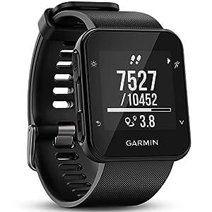 Garmin Forerunner 35 GPS Running Watch con Sensore Cardio al Polso, Connettività Smart e Monitoraggio attività Quotidiana, Nero